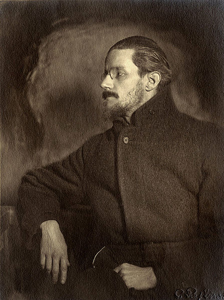 Black and White Image of James Joyce
