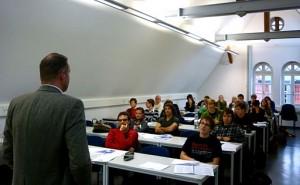 Adult education classroom