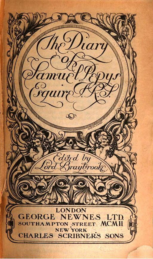 Samuel Pepys Diary