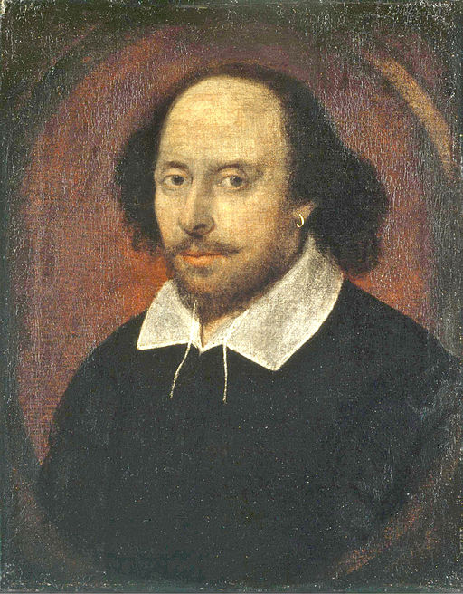 Painting of William Shakespeare