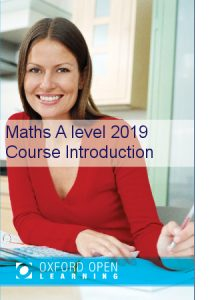 Maths A level Course Introduction