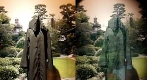 Prototype invisibility coat