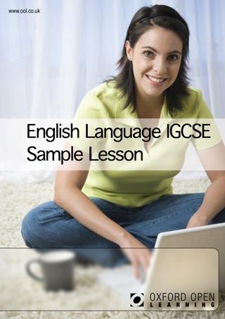 English Language IGCSE sample lesson cover image