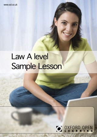 Law A level sample lesson cover image