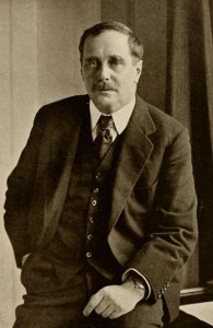 Photograpic Portrait of HG Wells