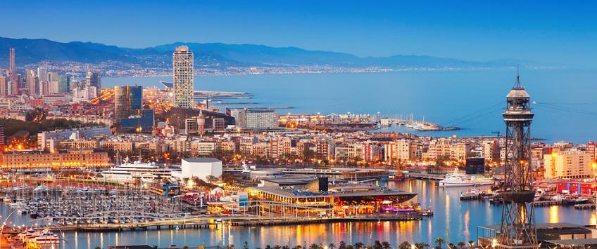 Image of Barcelona port, Spain