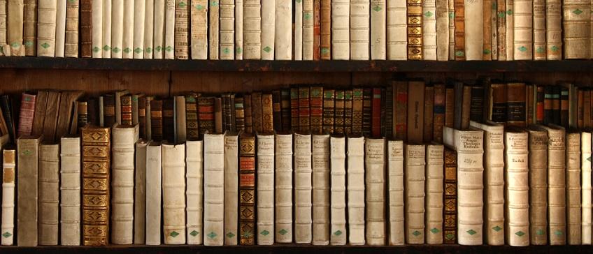 Image showing books on a bookshelf