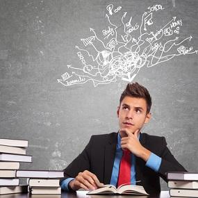 Business Studies Student conceptulising