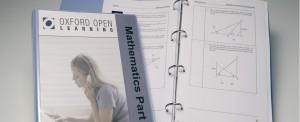 maths course materials in a folder
