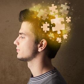 Psychology Student. Mind an expanding Jigsaw puzzle